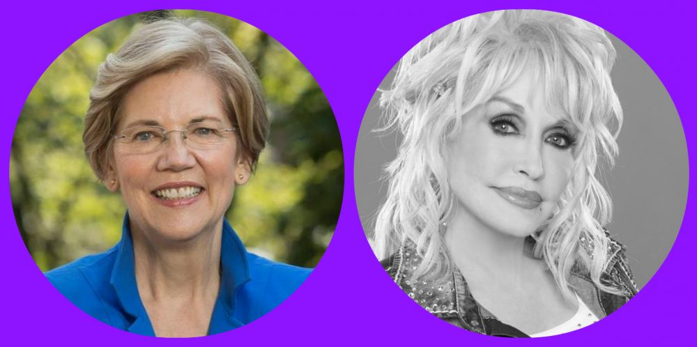 candidate music 2020 Elizabeth Warren 2020 Dolly Parton candidates favorite music