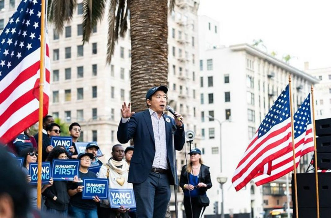 andrew yang progressive los angeles