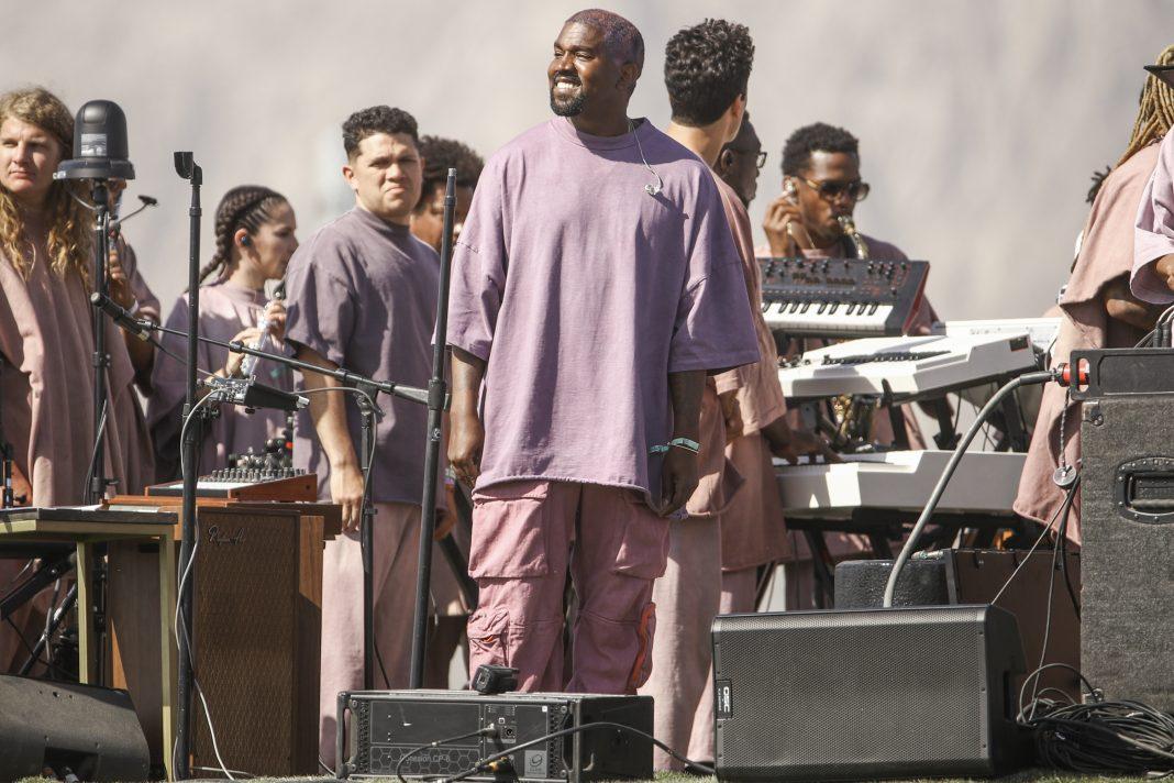 the best attitude 6ef24 e5958 Kanye West Coachella Performance Brings Gospel to the Desert