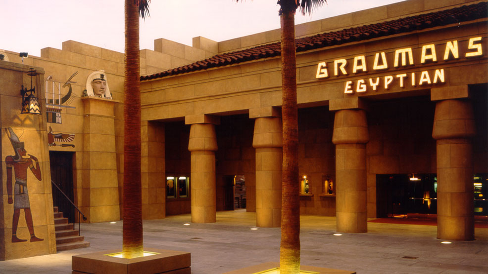 Netflix Egyptian theatre hollywood American Cinematheque