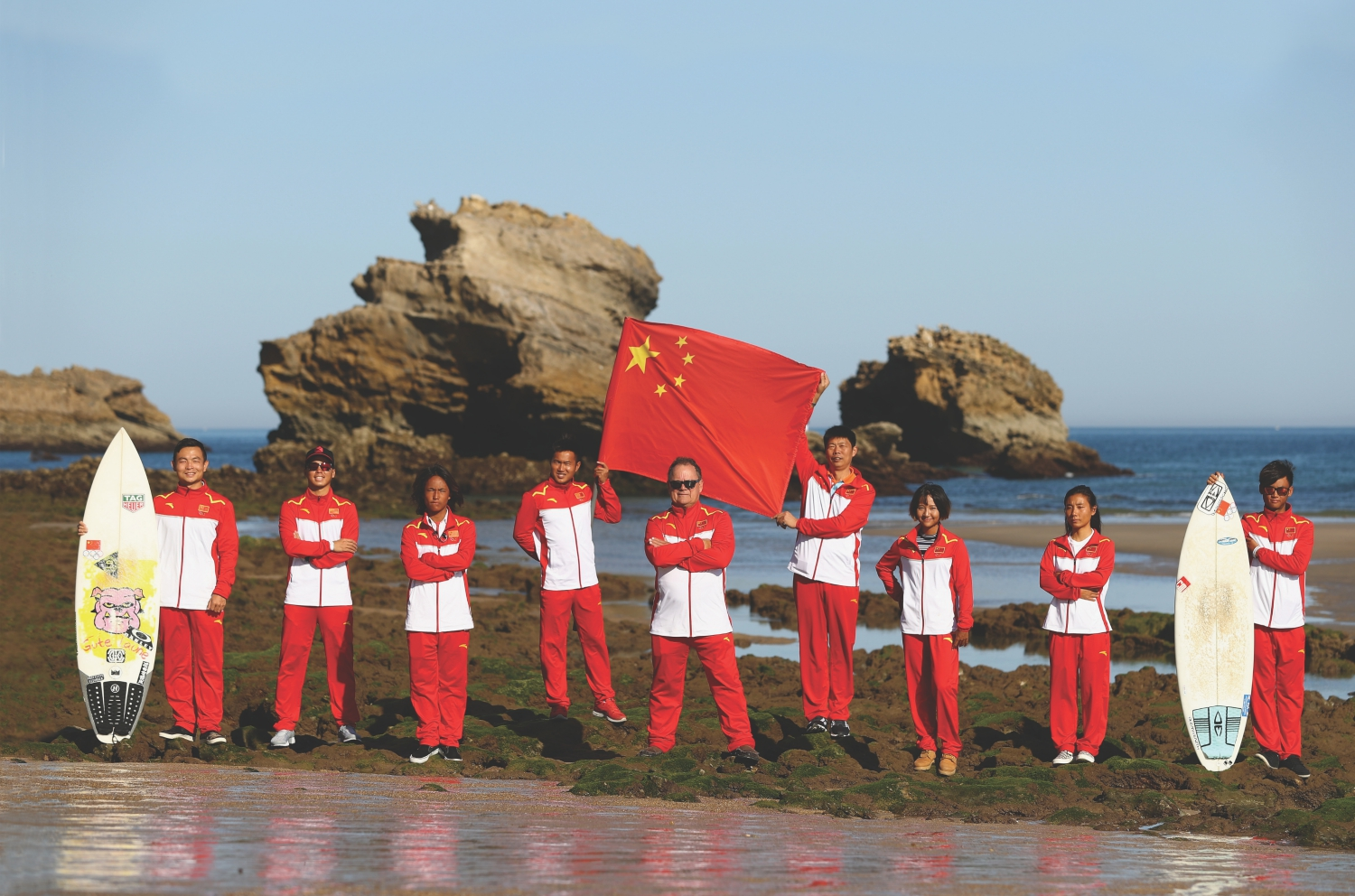 china surf team huntington beach