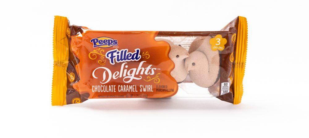 chocolate caramel swirl peeps flavors tate test ranking