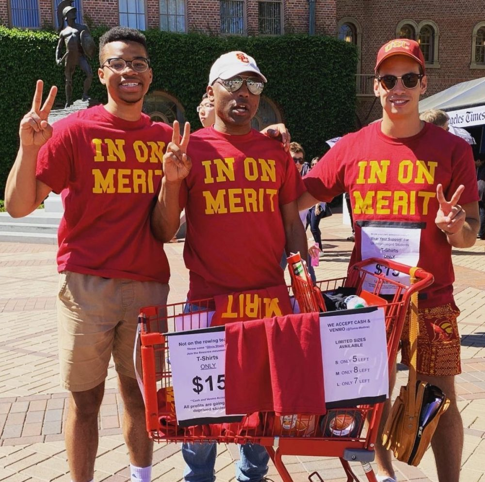 usc in on merit