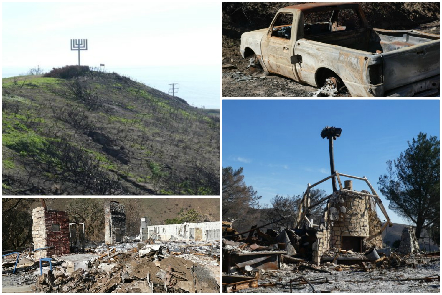 Will a Pair of Beloved Jewish Summer Camps Rise from the Ashes of the Woolsey Fire?