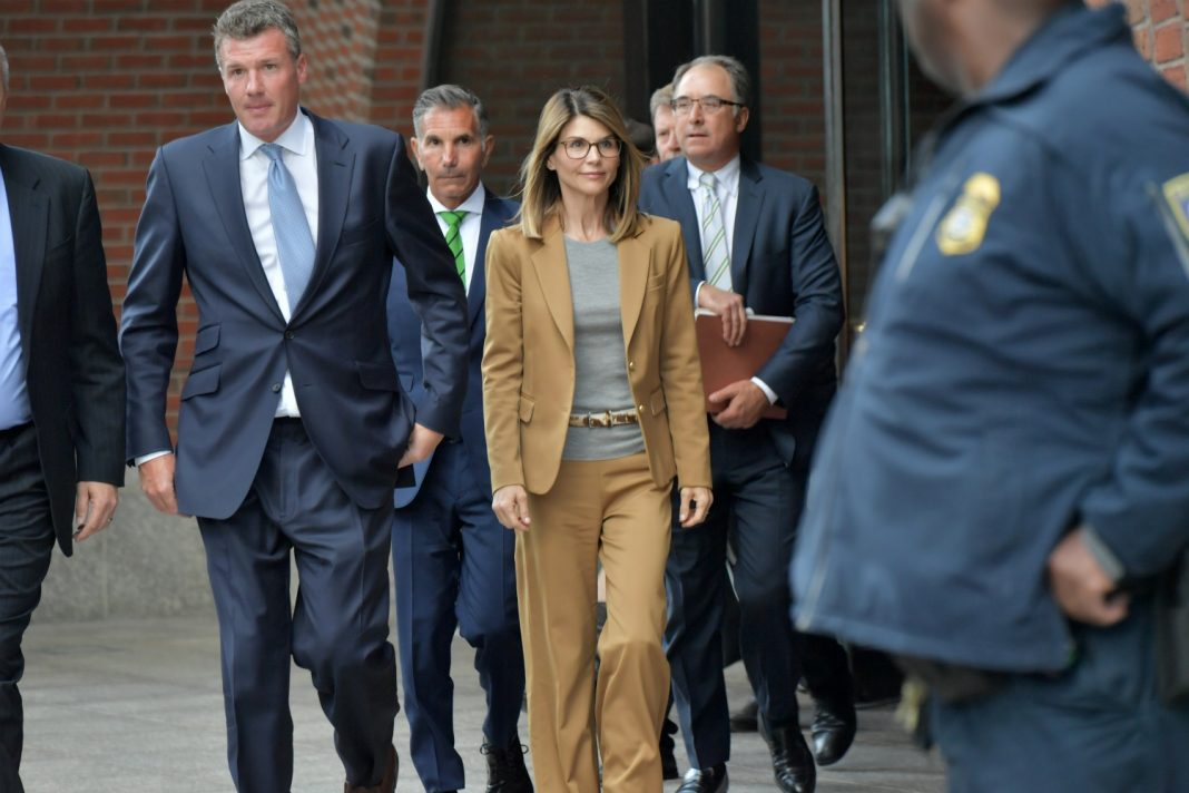 lori loughlin usc lawsuit indictment flyer los angeles