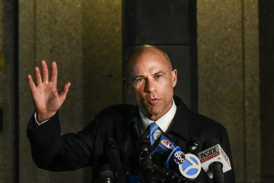 michael avenatti charges money