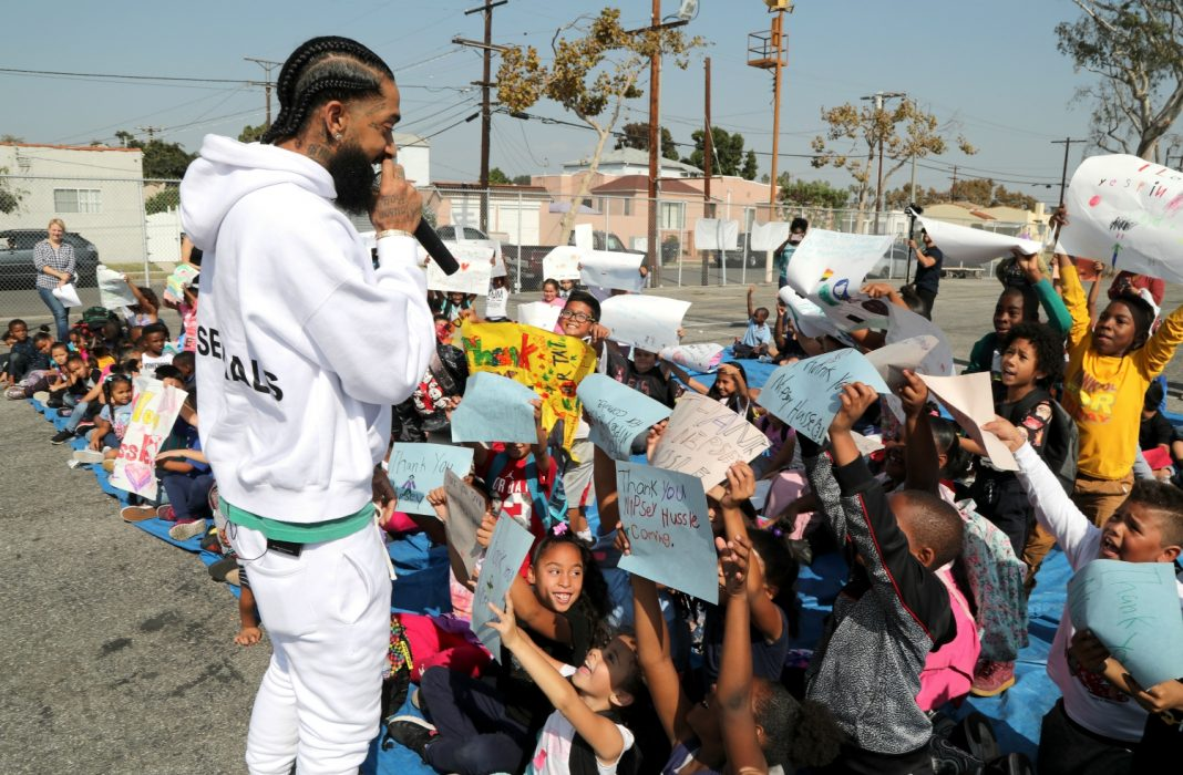 Image result for nipsey hussle community 2019