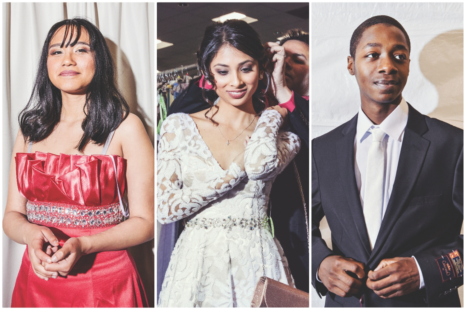 foster prom glamour gowns suit up