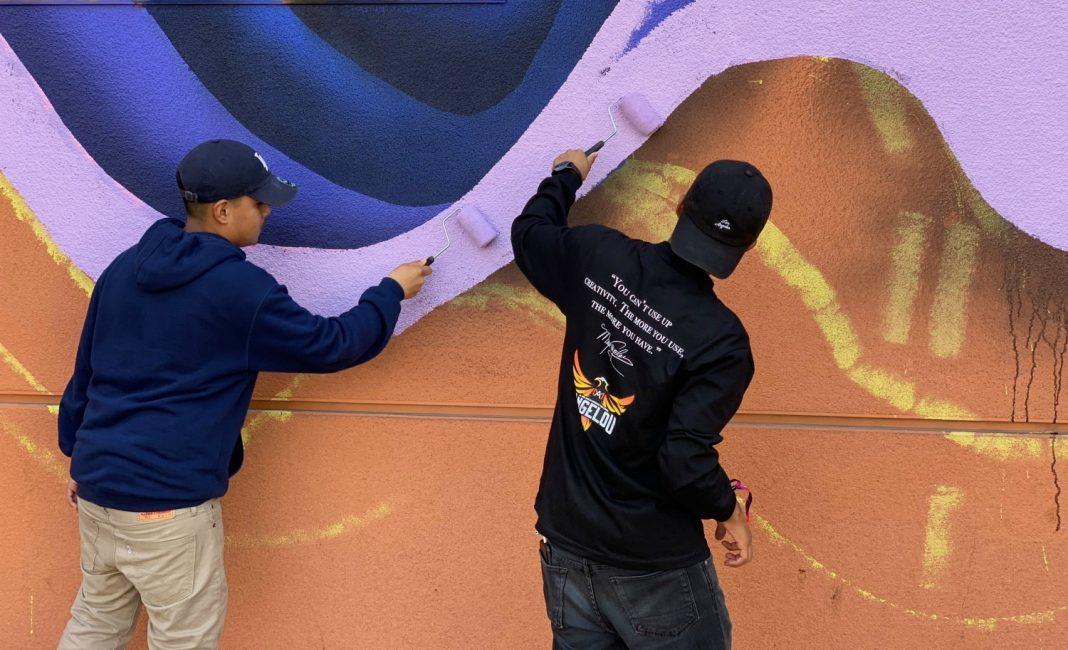 Maya Angelou Mural Festival Brings Out Shepard Fairey and More