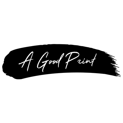 A Good Print logo