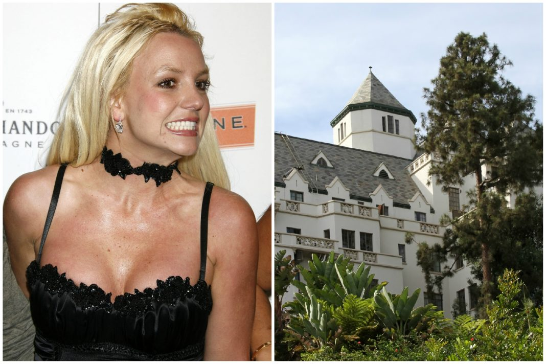 chateau marmont britney spears