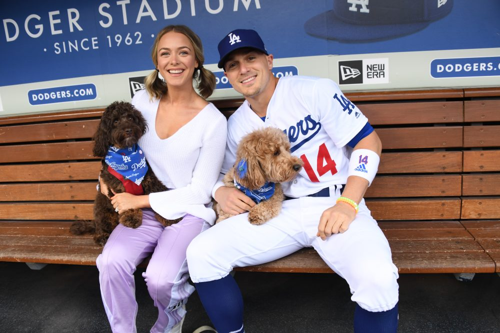 dogs at dodger stadium