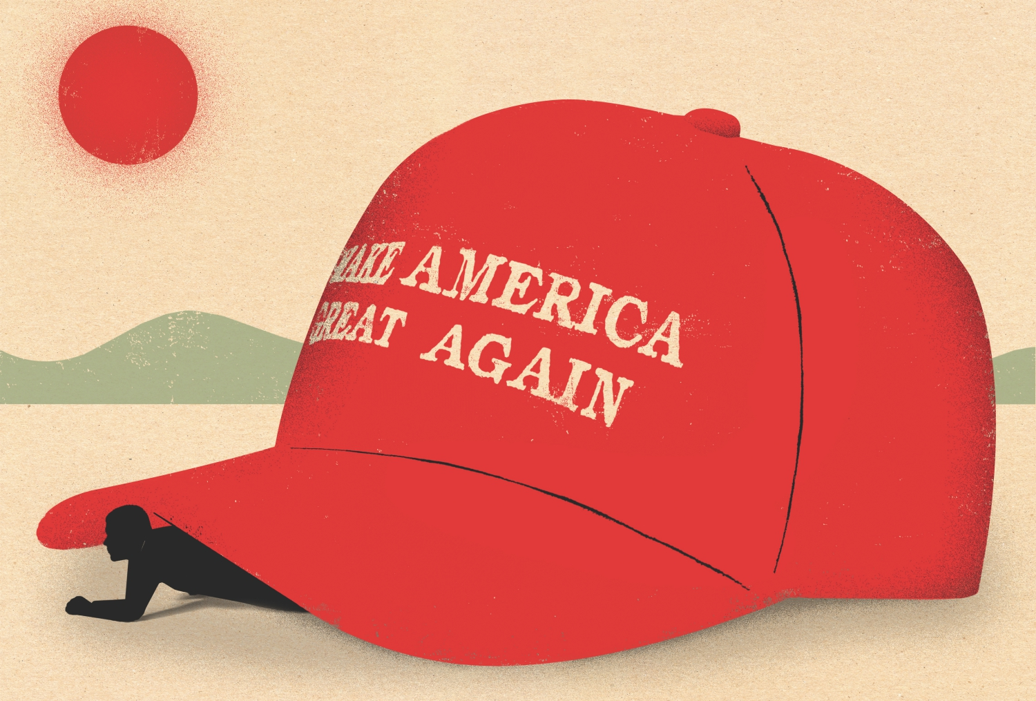 maga hat los angeles joel stein