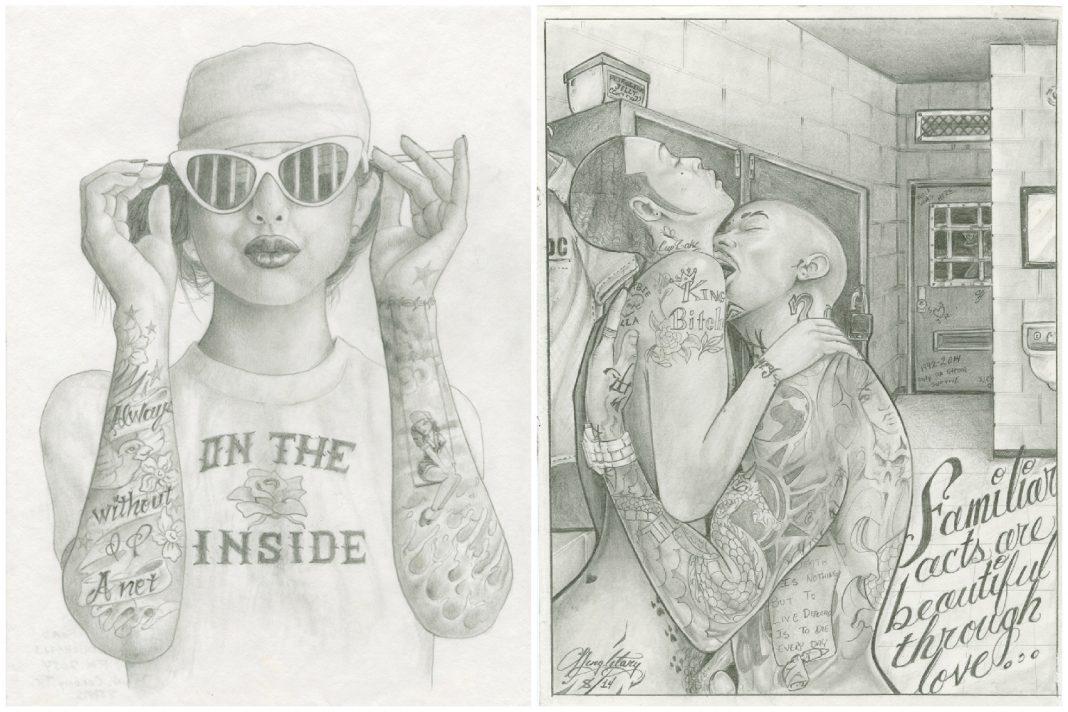 on the inside prison art