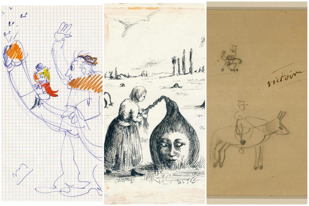 scrawl book doodles