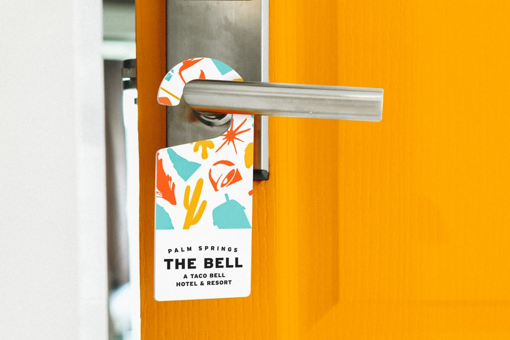 the bell taco bell palm springs hotel