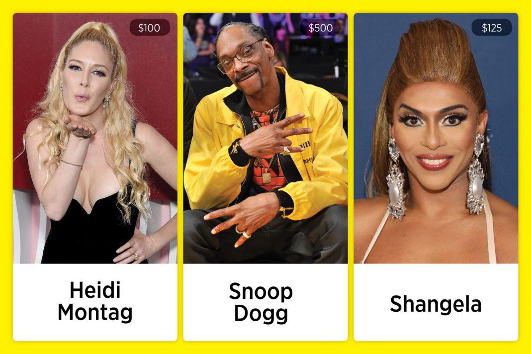 cameo celebrities