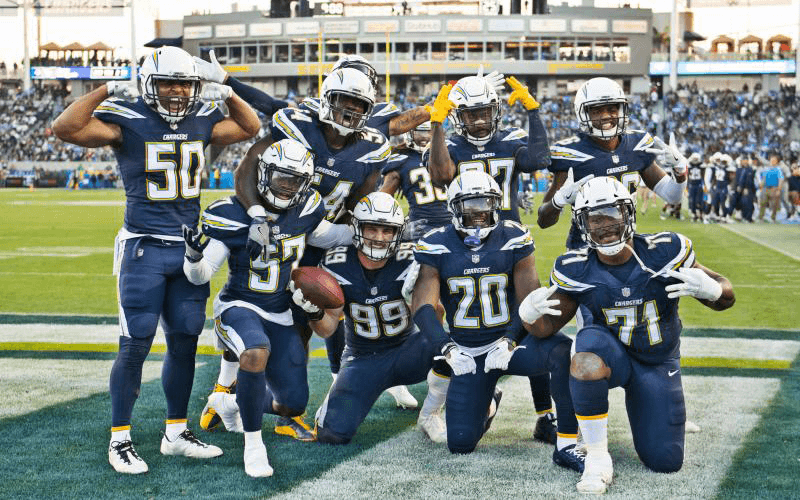 Chargers Sweepstakes