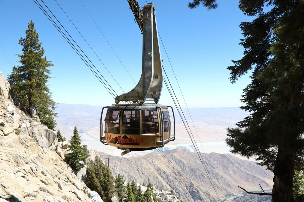 griffith park tram palm springs aerial tramway
