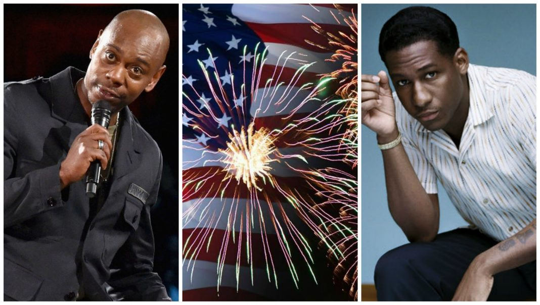 best things to do this week dave chappelle leon bridges fireworks july 4