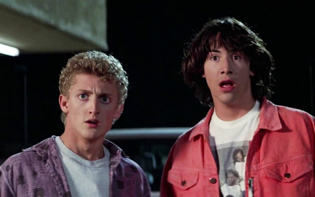 bill and ted 3 keanu reeves