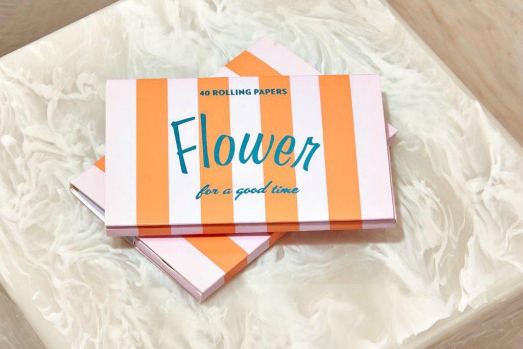 flower by edie parker fashion designer cannabis