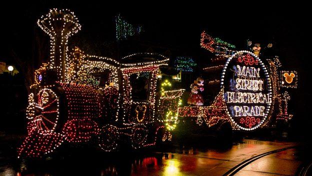 main street electrical parade disneyland