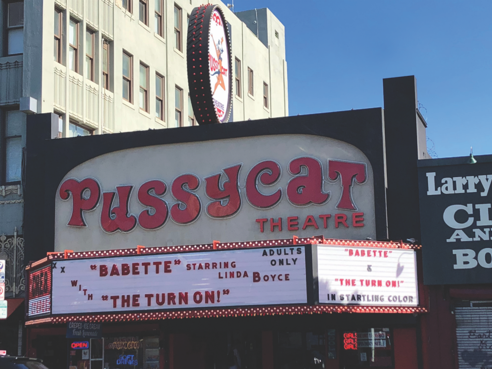 pussycat theatre los angeles