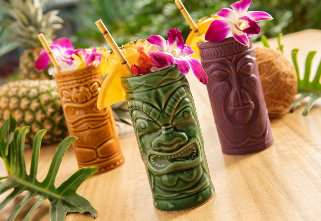 los angeles tiki bar tiki mug tropical cocktail