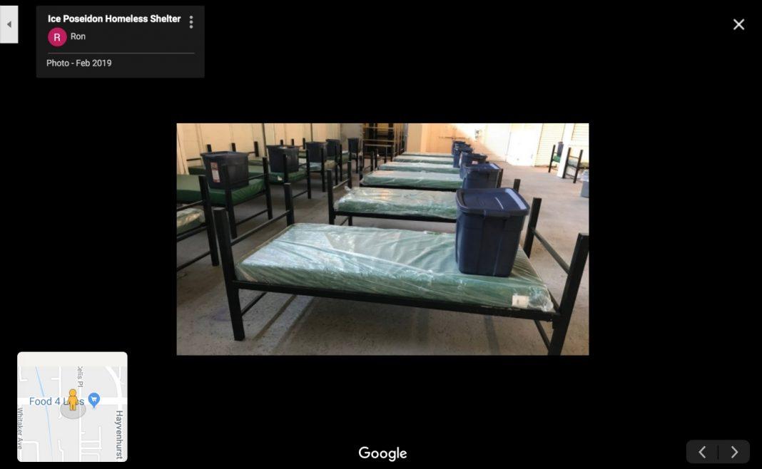 ice poseidon homeless shelter tarzana