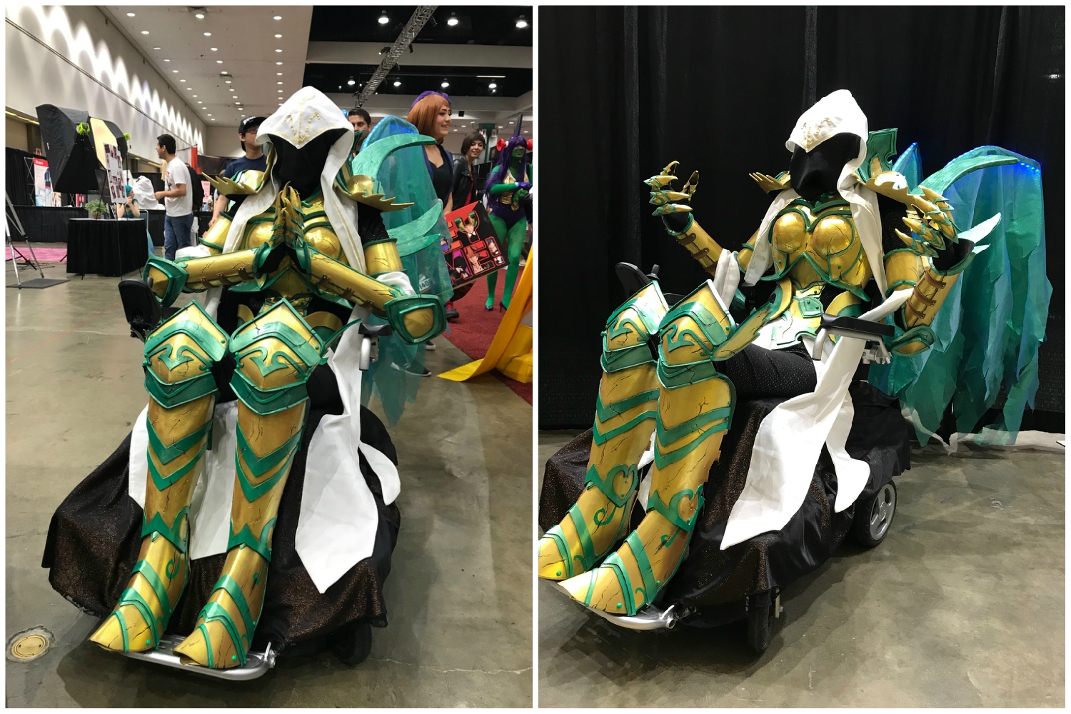 For Amber Kohaku Chan, Muscular Dystrophy Turned Cosplay into a Lifestyle