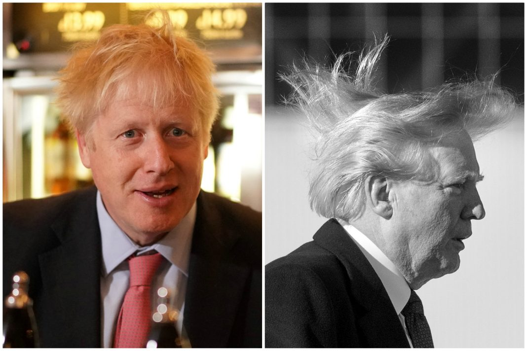boris johnson hair donald trump hair worse