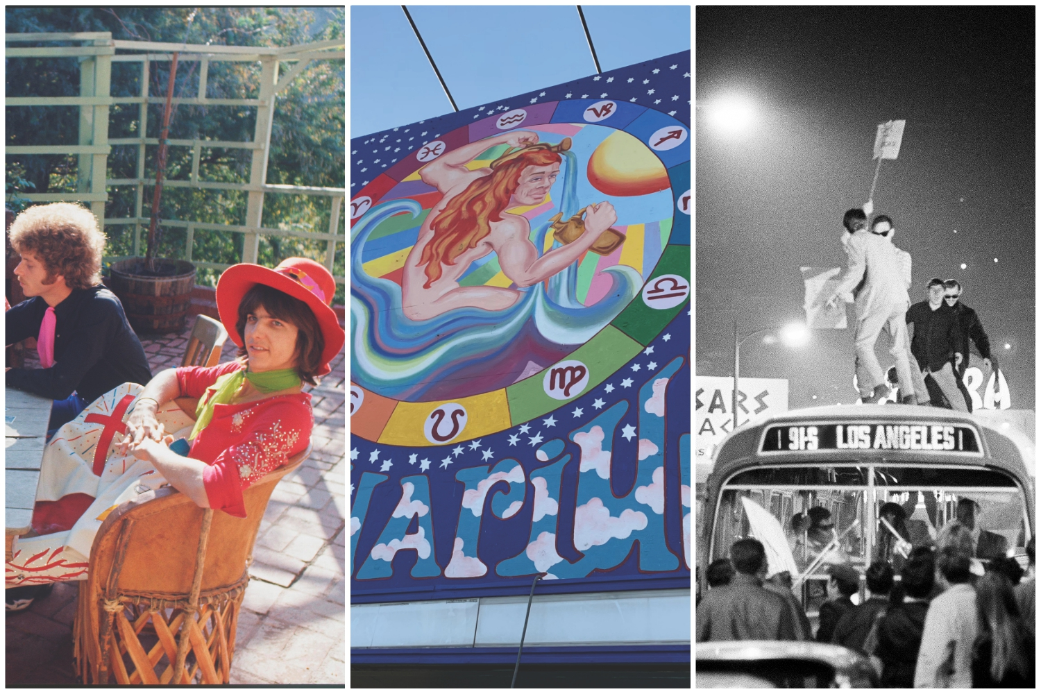images of los angeles in 1969