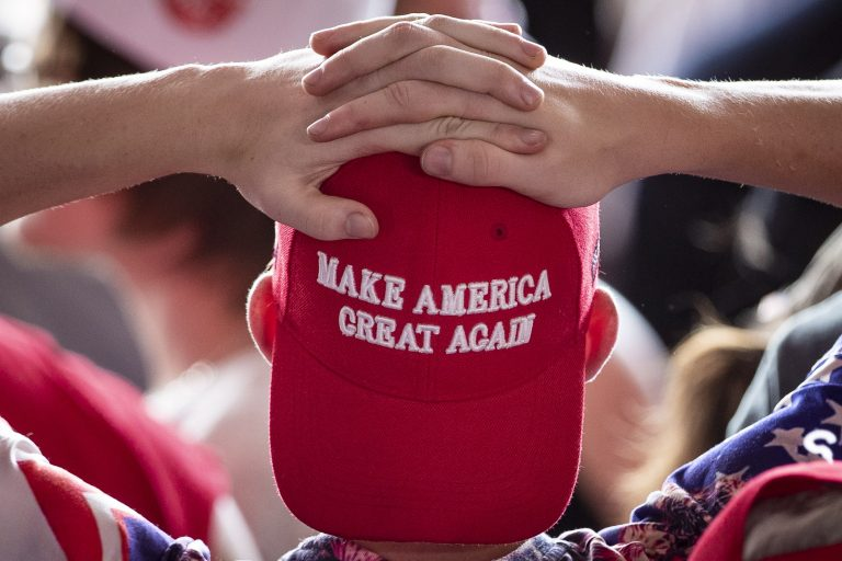 Candidate Swag Is Banned at the Polls—but MAGA Hats Apparently Don't Count