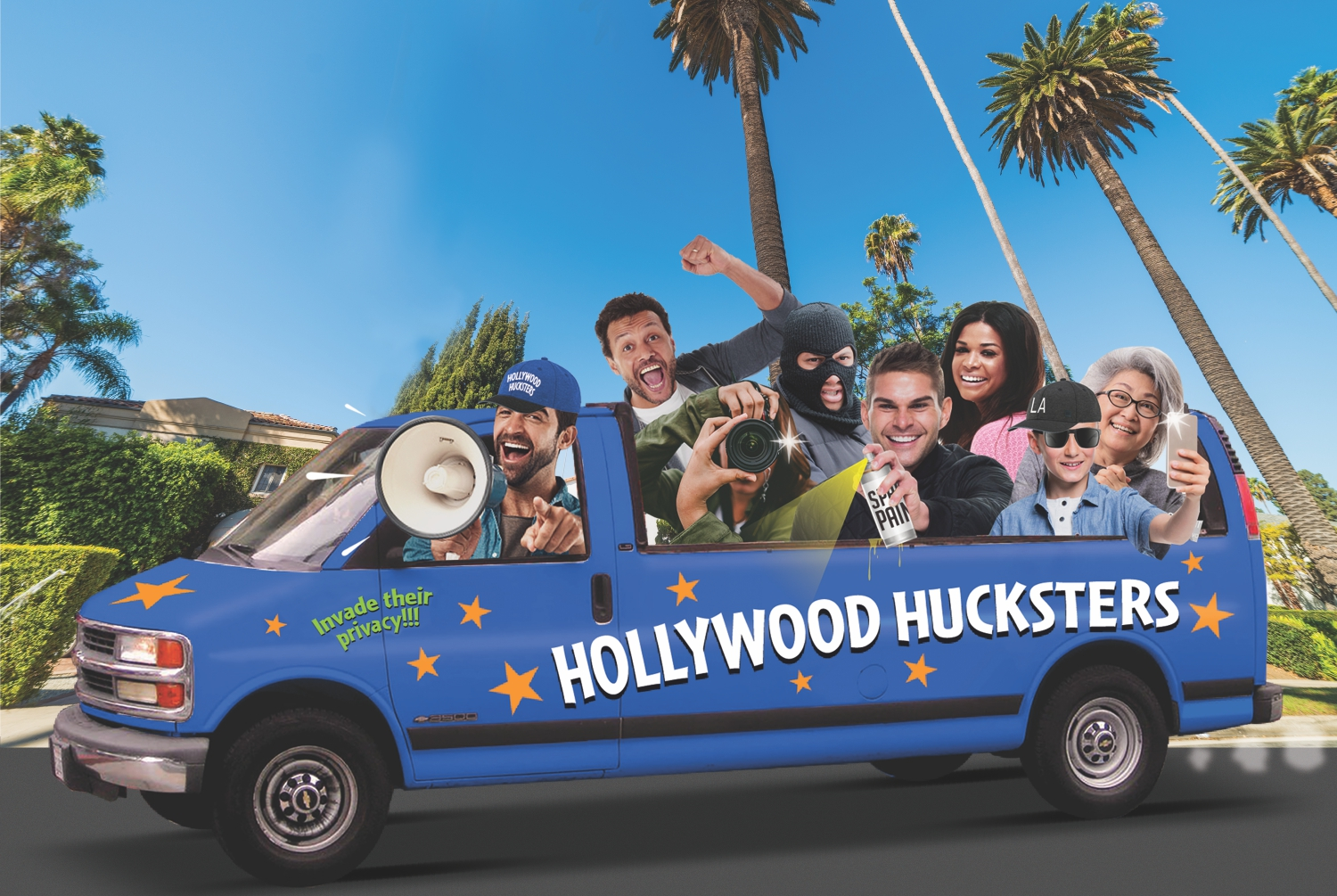 tour buses hollywood