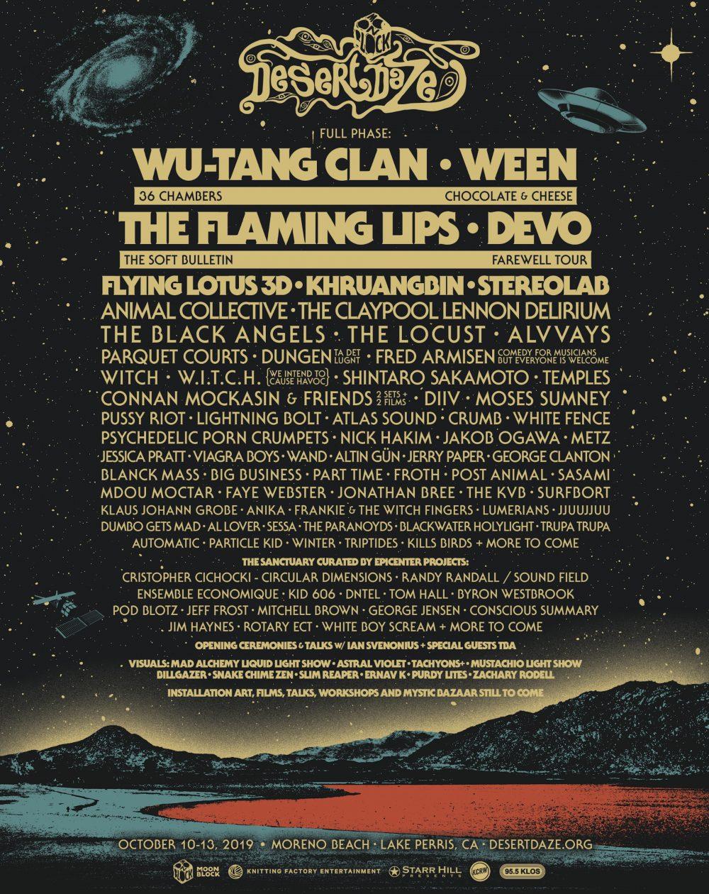 Desert Daze 2019 Poster