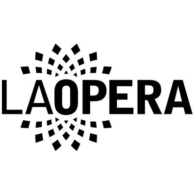 LA Opera 2019 logo