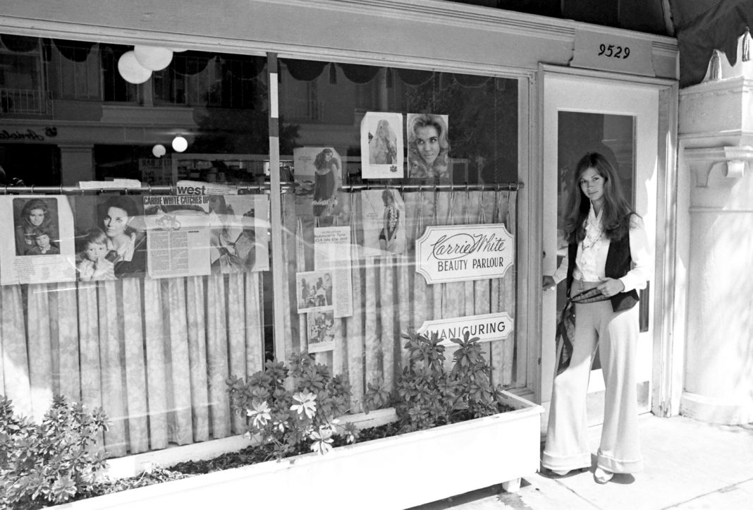carrie white hair salon 1960s