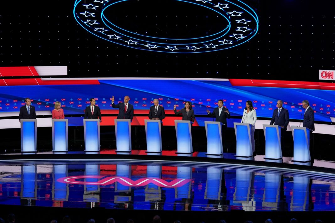 democratic debate night 2