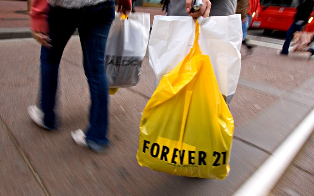 is forever 21 closing bankruptcy