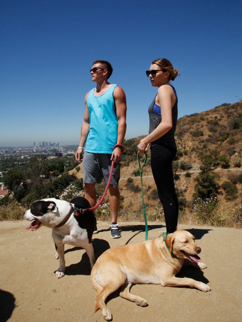 dog hike runyon canyon