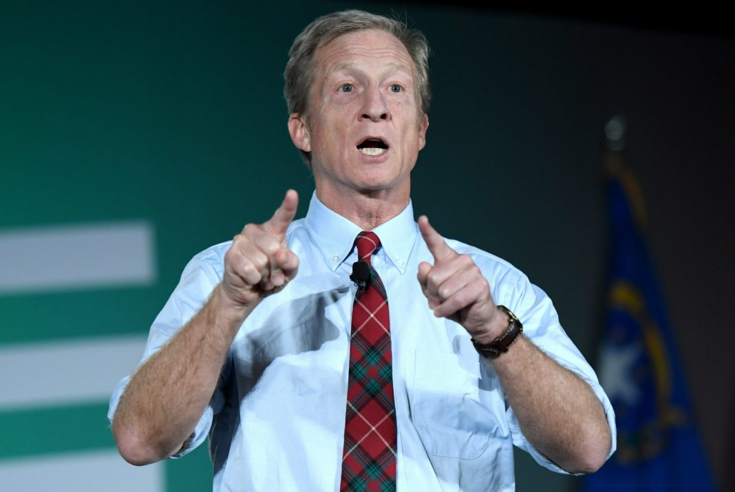 tom steyer democratic debate