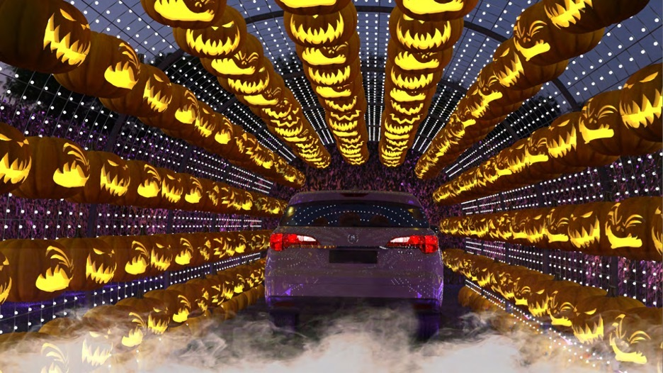 halloween drive thru hauntoween halloween los angeles