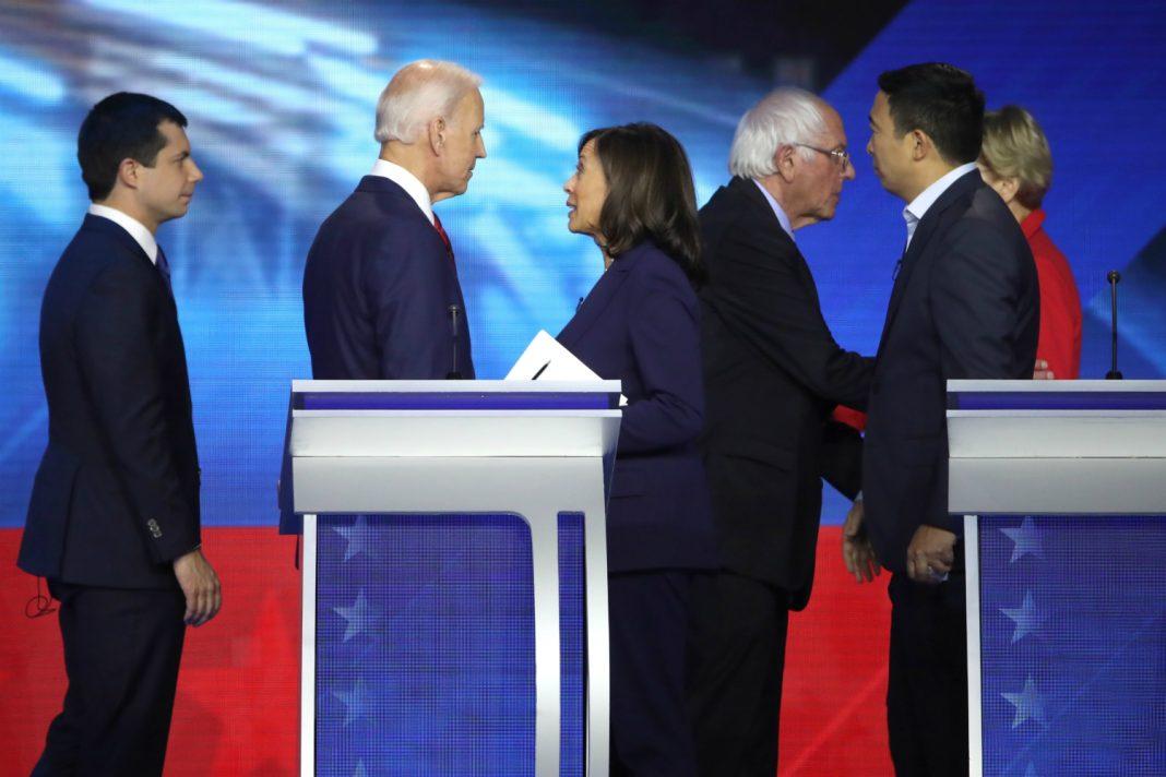 dem debate winner