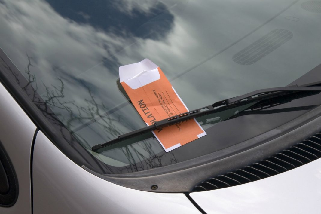 West hollywood parking ticket