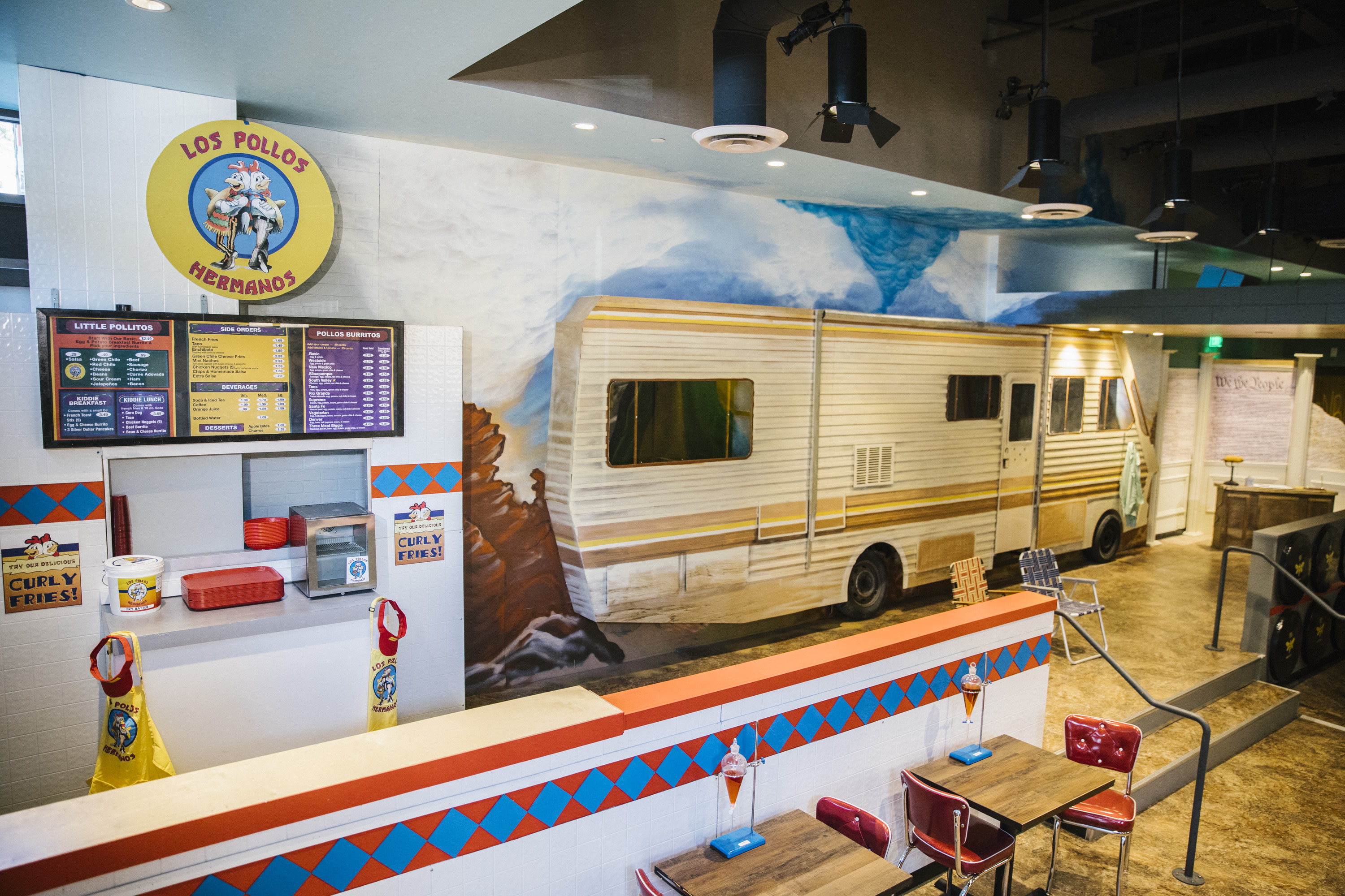 A Breaking Bad Pop-Up Is Heating Up in West Hollywood