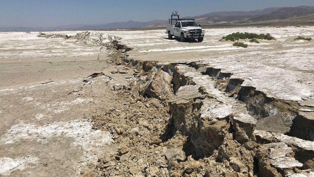 ridgecrest eathquake mojave fault