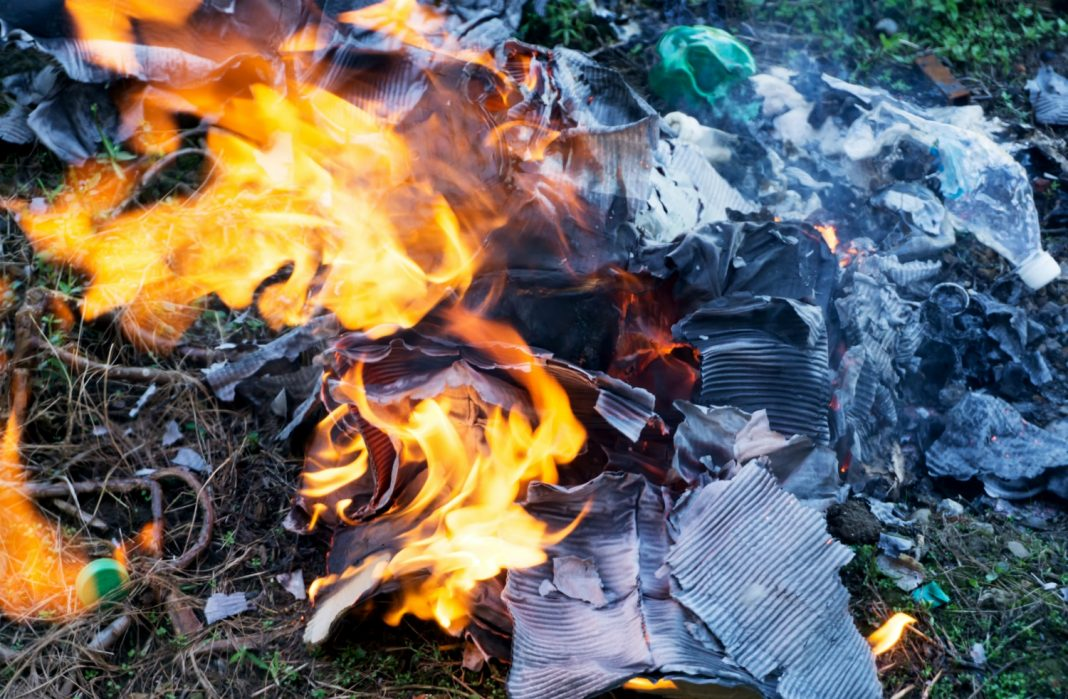 sandalwood fire garbage fire garbage truck death
