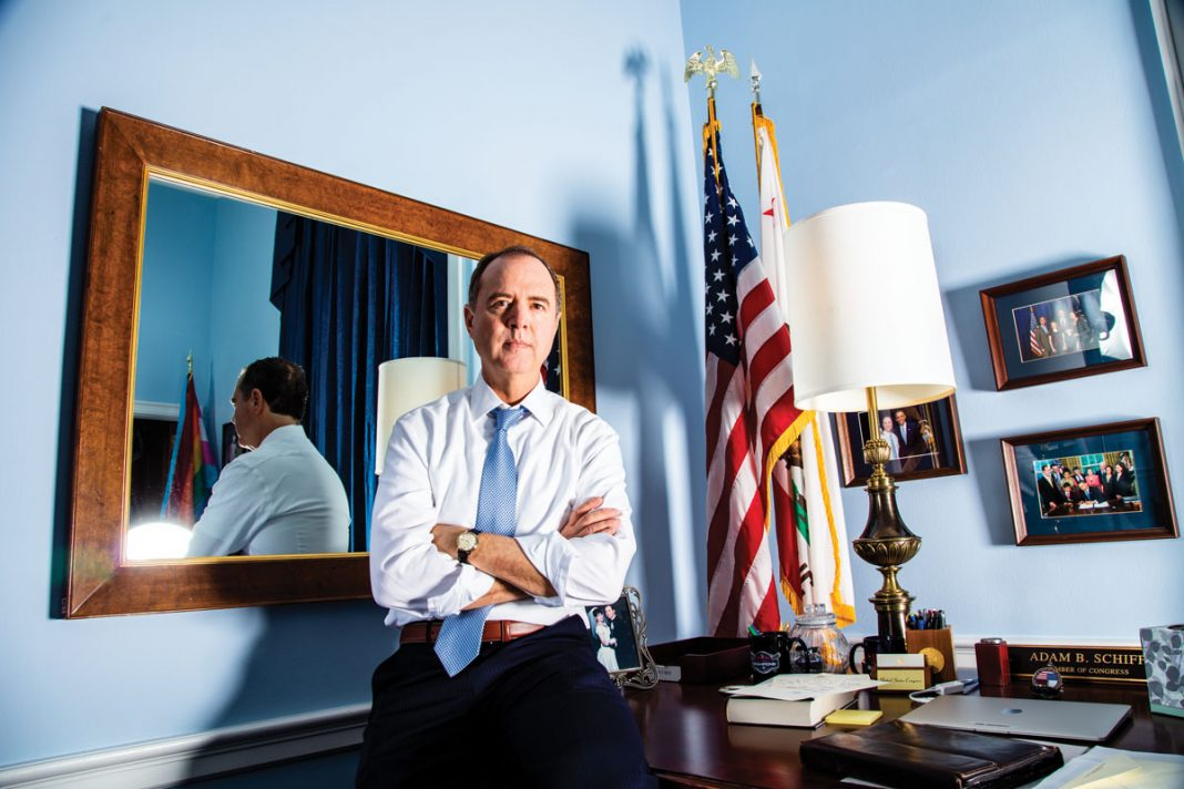 Adam Schiff Is Ready to Rumble