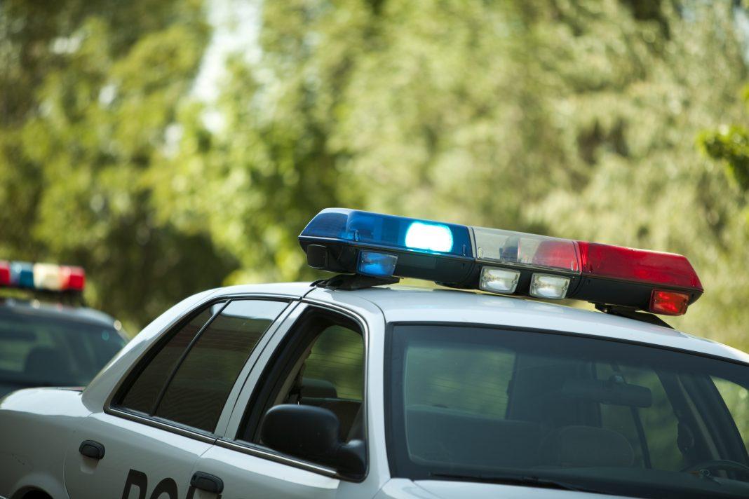 santa clarita school shooting police car lapd